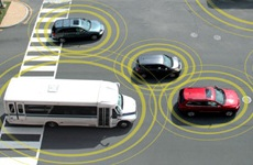 Illustration of connected vehicles