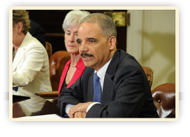 Attorney General Eric Holder and Health and Human Services (HHS) Secretary Kathleen Sebelius release a new record-breaking report on Medicare Fraud recovery.