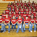 Students at the National Drug Facts Week assembly for the South Central SADD organization in Greenwich, Ohio.