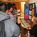 Wapato High school participated in NDFW by having a question of the day contest using questions from the National Drug IQ Challenge. Groups were determined by lunch hour and the groups competed to see who would answer the most questions correctly. Each day there was a new question and a drug fact of the day with boards, brochures, and Q&A sessions.