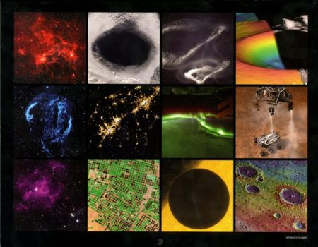 NASA Science 2013 Wall Calendar back cover