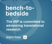 Bench-to-Bedside: The IRP is committed to advancing translational research.
