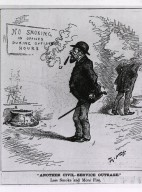 """""""Another Civil-Service Outrage."""" Less Smoke and More Fire/ Thomas Nast."""