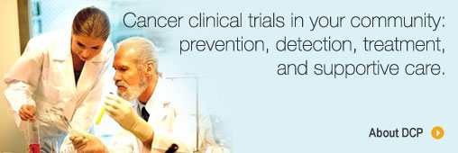 Cancer clinical trials in your community: prevention, detection, treatment, and suppportive care.