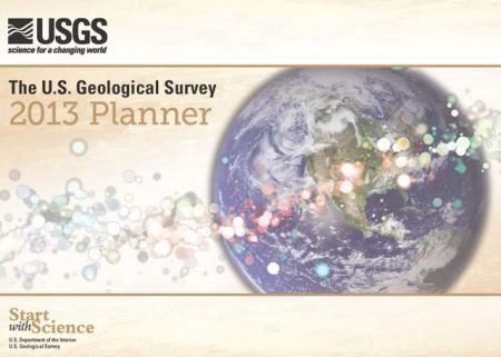 USGS 2013 Calendar front cover