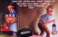 """""""Bring That Lantern Back, I Haven't Finished Yet."""" Midwife/ Fitzpatrick."""