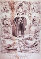 """Chang"" and ""Eng"" the world renowned united Siamese twins / Currier & Ives Lith."