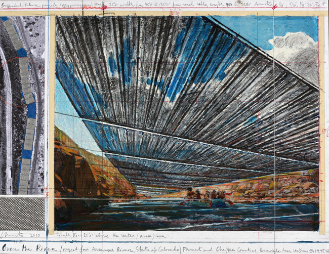 Image: David Reed #421 (panels #1 - #4), 1998 Dorothy and Herbert Vogel Collection 2007.6.240