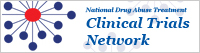 National Drug Abuse Treatment Clinical Trials Network: Search listings of drug abuse clinical trials, click here