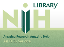 NIH Library, An ORS Service - Amazing Research, Amazing Help