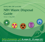 NIH Waste Disposal Guide Cover Graphic