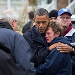 President Barack Obama Tours Storm Damage in New Jersey
