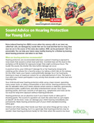 Sound Advice on Hearing Protection for Young Ears