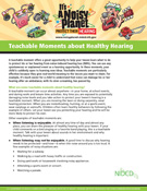 Teachable Moments about Healthy Hearing