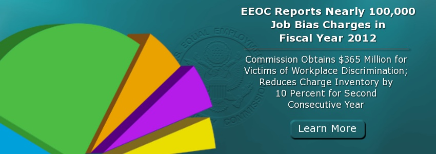 EEOC Reports Nearly 100,000 Job Bias Charges in Fiscal Year 2012