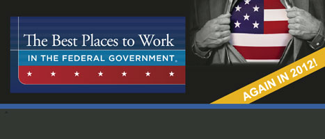 GAO again named one of the best places to work in the federal government.