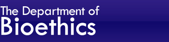 The Department of Clinical Bioethics