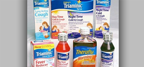 Triaminic Syrups and Theraflu Warming Liquids