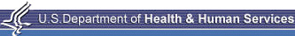 U.S. Department of Health and Humane Services logo