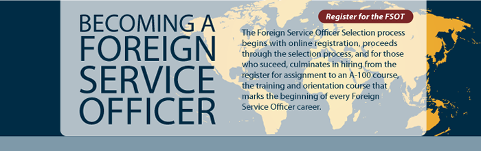 Becoming a Foreign Service Officer