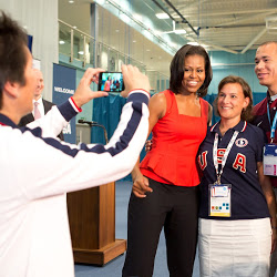 The First Lady at the 2012 Olympic Games In London