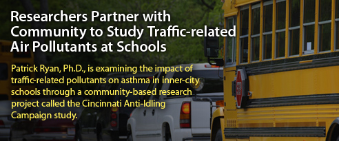 Researchers Partner with Community to Study Traffic-related Air Pollutants at Schools
