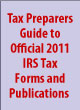 Official 2011 IRS Tax Forms and Publications.