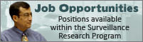 Jobs at the Surveillance Research Program