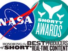 Shorty awards. Credit: NASA