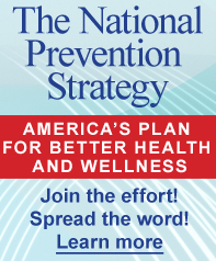 National Prevention Strategy image. Click to learn more