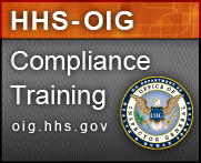 OIG Provider Compliance Training at oig.hhs.gov