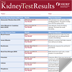 An image of NKDEP's Your Kidney Test Results- a 'report card'