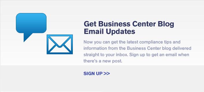 Get Business Center Blog Email Updates