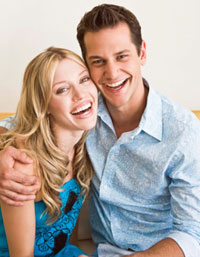 Photo: Couple laughing