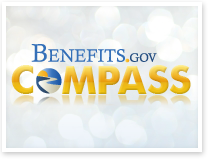 Esta es una imagen de Compass de Benefits.gov