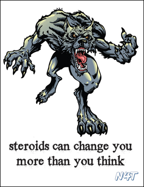 Steroids can change you more than you think