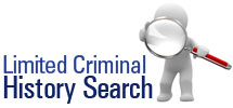 Limited Criminal History Search