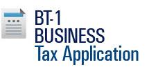 BT-1 Business Tax Application