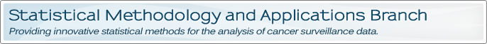 Statistical Methodology and Applications Branch Banner Image