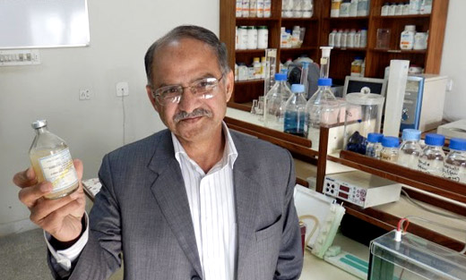 USDA helps keep FMD vaccinations cold and viable through its Program for the Progressive Control of FMD in Pakistan.