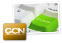 """Imagen de un teclado enfocada en una tecla de color verde que contiene la palabra """"Success""""."""