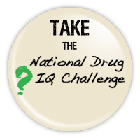National Drug IQ Challenge Badge