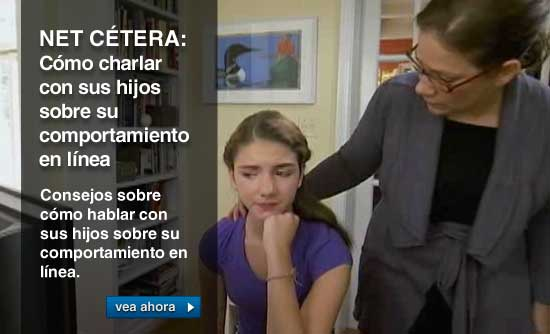 NET CÉTERA: Cómo charlar con sus hijos sobre su comportamiento en línea. Consejos sobre cómo hablar con sus hijos sobre su comportamiento en línea.