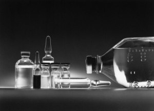 chemotherapy drugs in vials
