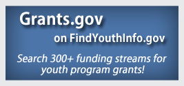 Badge for FindYouthInfo.gov: Grants.gov on Find Youth Info