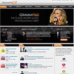 Thumbnail image of Grammy 365 website