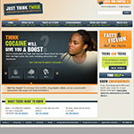 Thumbnail image of Just think twice website