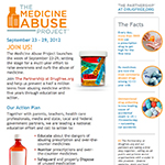 Thumbnail image of The Medicine Abuse Project web page