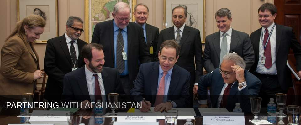 Partnering with Afghanistan