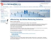eMentoring Website Screenshot